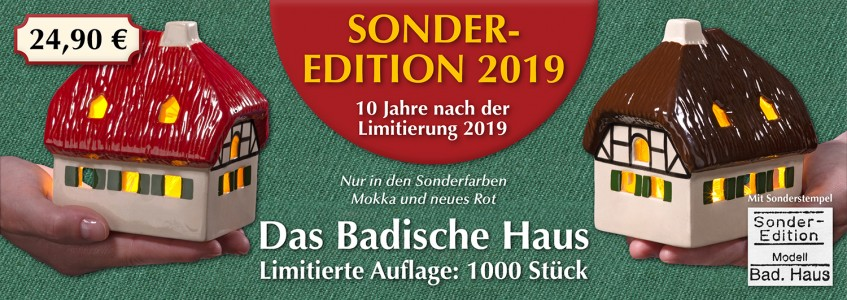 NEU: Sonder-Edition 2019