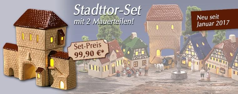 Stadttor-Set 2017