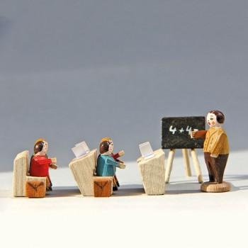 Schulklasse mit Lehrer