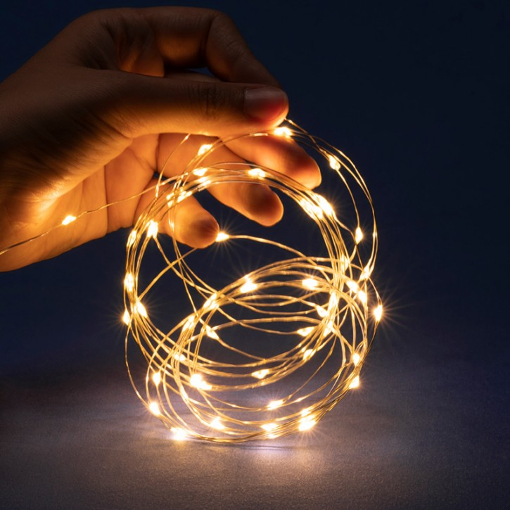 LED 50er Lichterkette