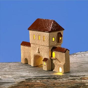 Stadttor-Set (braunes Dach)