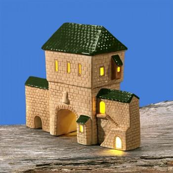Stadttor-Set (grünes Dach)