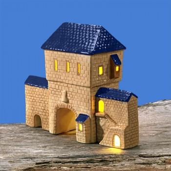 Stadttor-Set (blaues Dach)
