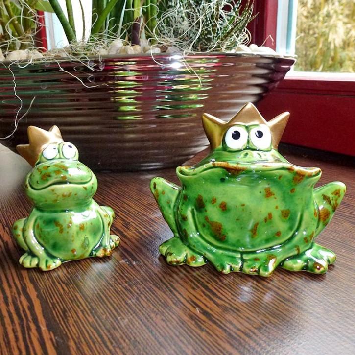 Frosch-Paar klein
