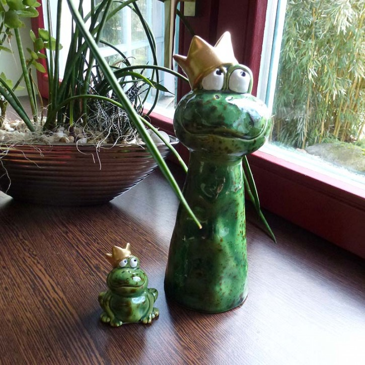 Frosch-Paar groß