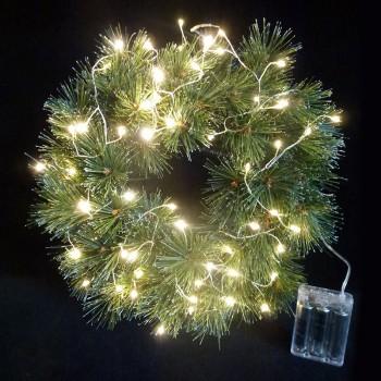 Lichterkranz mit Lichterkette