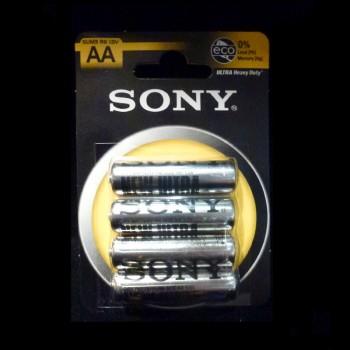 Mignon Batterien 4er Set Sony AA 1,5 V