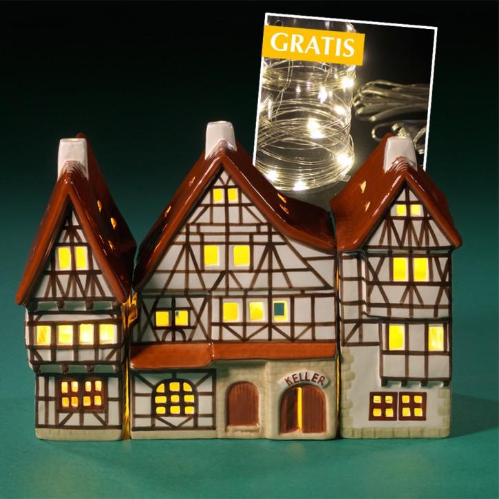 Dreigiebelhaus Komplettset 1a