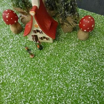 Gelände-Matte mit Schnee