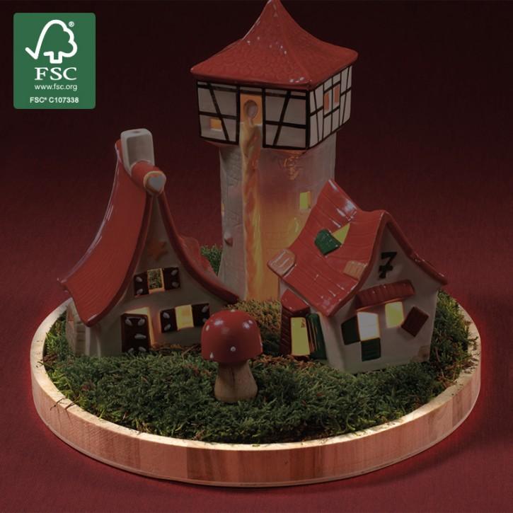 Präsentier-Tablett aus Holz