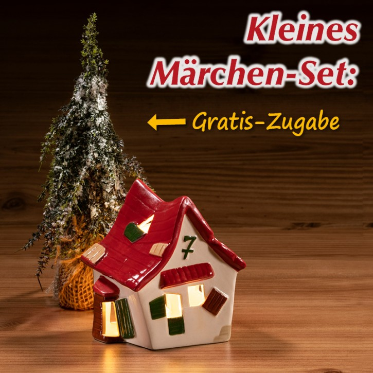 7 Geißlein-Haus inkl. 1 Zaubertanne