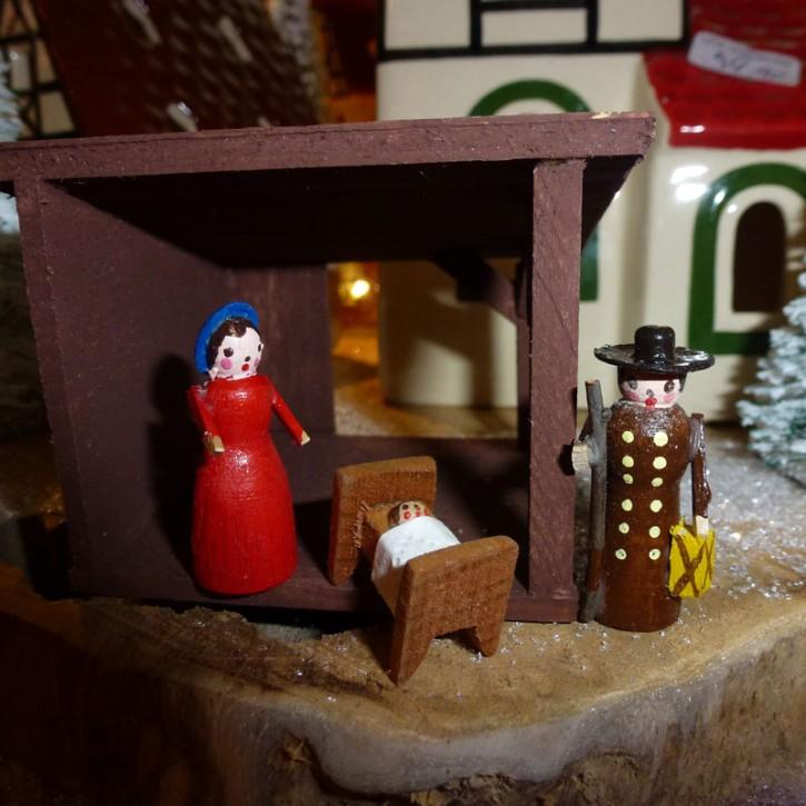 Stall-Set Bethlehem 4-Teilig