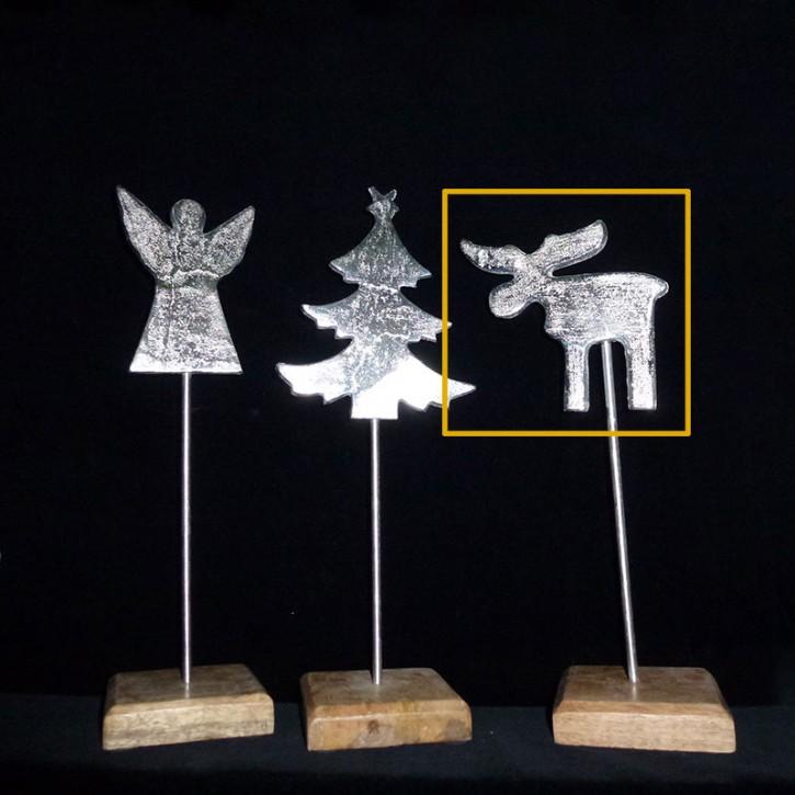 Deko-Ständer mit Elch