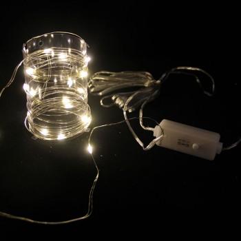 LED-Lichterdraht 10 Leuchtdioden