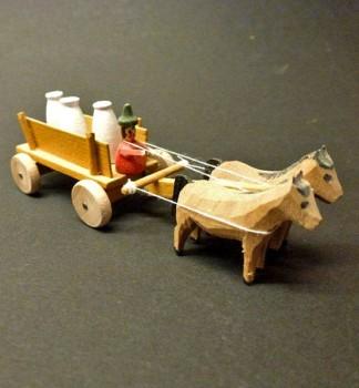 Cart with flour