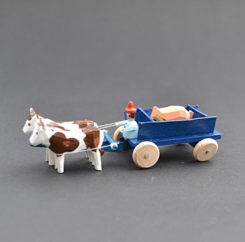Cart with pig