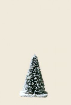 Snow-covered fir trees 8cm