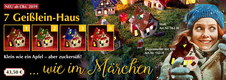 NEU: 7 Geißlein-Haus