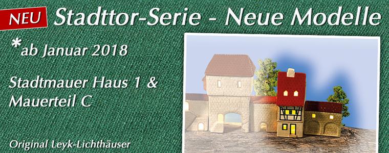 NEU: Stadttor-Serie 2018