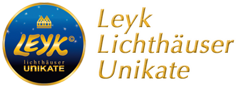 Leyk illuminated houses